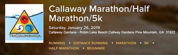 1 Callaway Marathon Half 5k Jan 26r